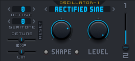 ArcSyn Synthesizer Oscillator