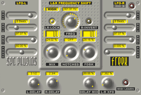 Freek VST Plugin