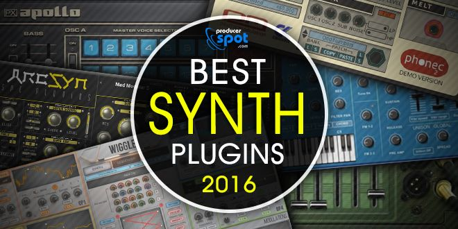 ArcSyn is one of the best plug-in synths of 2016 on ProducerSpot!